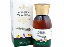 Alcohol Espagírico 125ml Nirvana Spa®