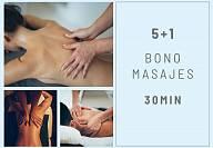 BONO MASAJES 5+1 30 min.