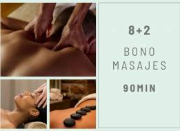 BONO MASAJES 8+2 90 min.