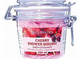 Cherry Shower Mousse 200ml Nirvana Spa®