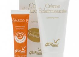 Crème Éclaircissante 50ml + Regalo Melano15 13ml Gernétic®