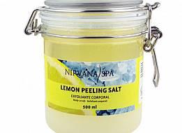 Lemon Peeling Salt 500ml Nirvana Spa®