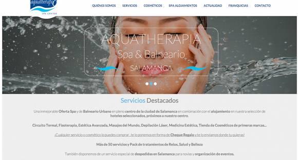 NUEVA WEB DE AQUATHERAPIA
