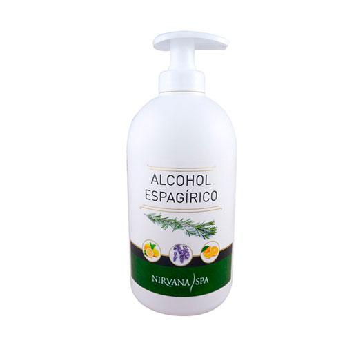 Alcohol Espagírico 500ml Nirvana Spa®