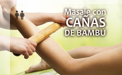 Cambiar a Masaje con Cañas de Bambú (60min)