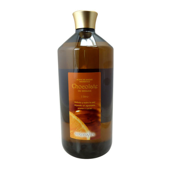 Aceite Corporal Chocolate Oil Massage 1 litro Nirvana Spa®