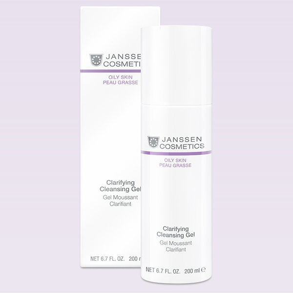 Oil Skin Clarifying Cleansing Gel 200ml Janssen Cosmetics®
