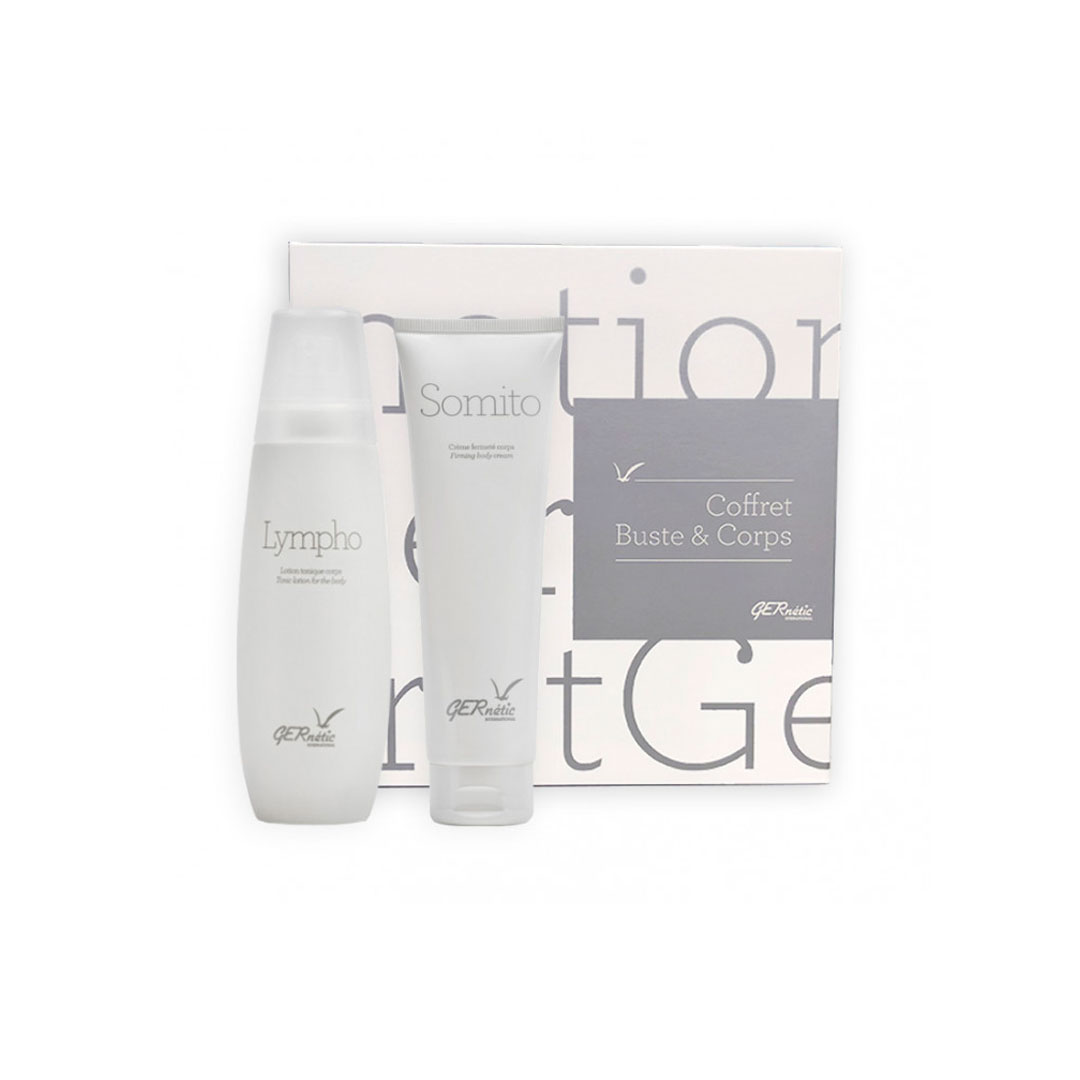 Coffret Buste & Corps Raffermissant: Somito 150ml + Lympho 100ml Gernétic®