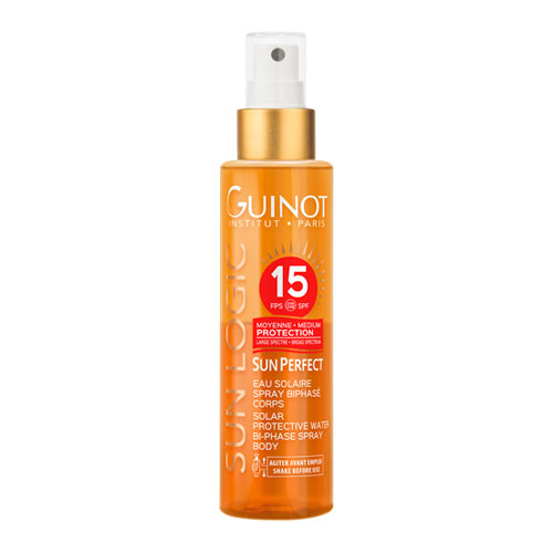 Eau Solaire Spray Biphasé Corps SPF15 150ml Guinot®