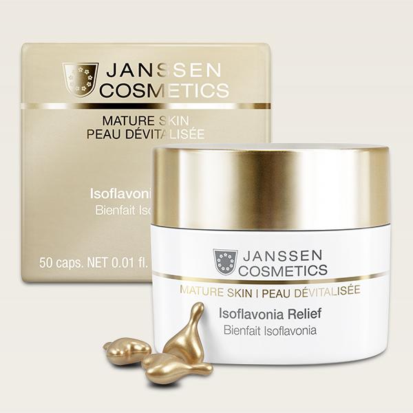 Mature Skin Isoflavonia Relief 20 caps. Janssen Cosmetics®
