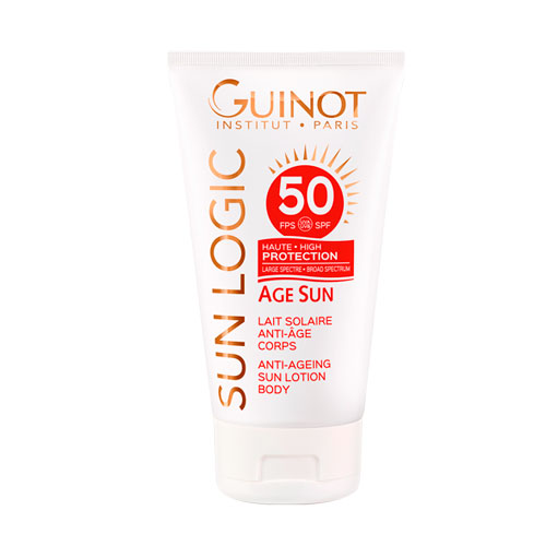 Lait Solaire Anti Age Corps SPF50 150ml Guinot®