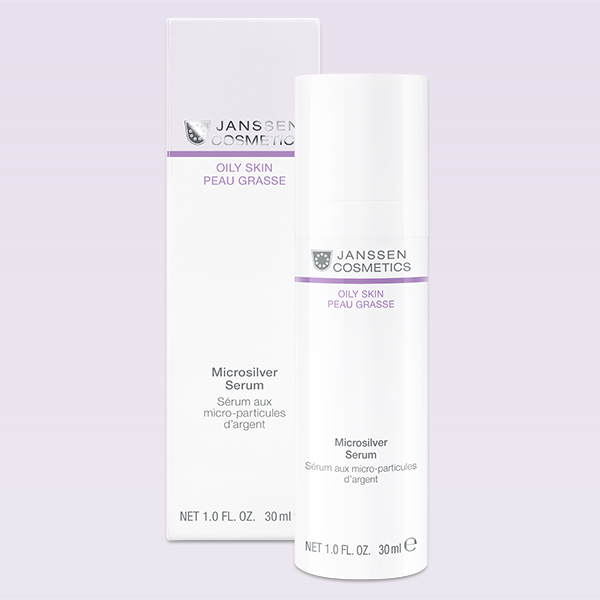 Oily Skin Microsilver Serum 30ml Janssen Cosmetics®