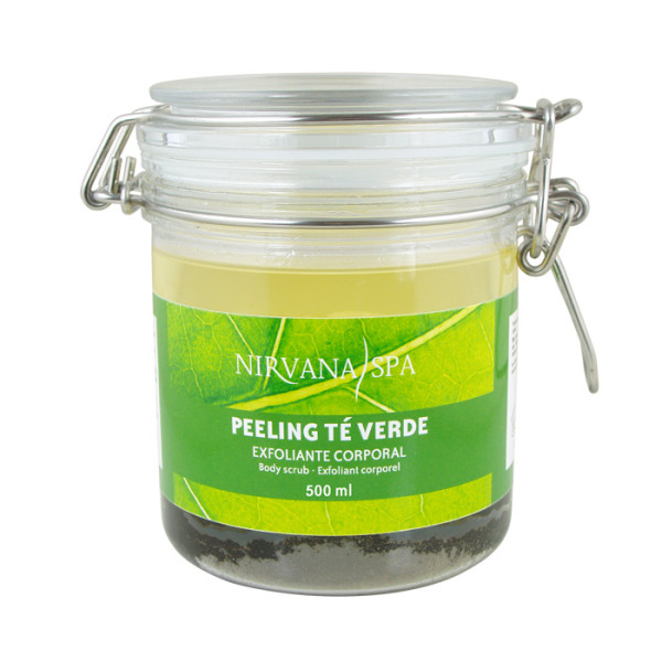 Peeling Té Verde 500ml Nirvana Spa®