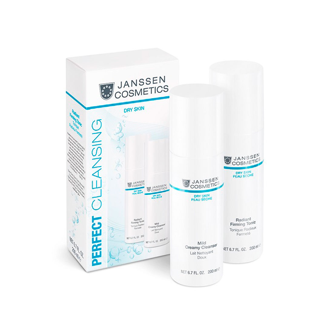 Perfect Cleansing Duo Dry Skin Janssen Cosmetics®