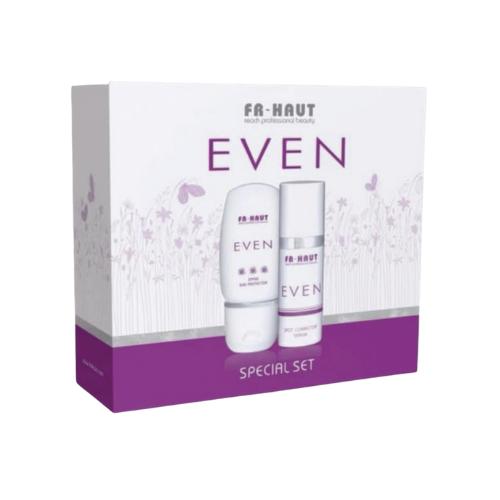 Special Set Even: Even Spot Corrector Serum 30ml + Even SPF50 Sun Protector 50ml Freihaut®