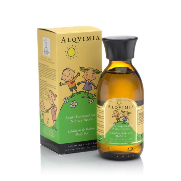 Aceite Corporal para Niños y Bebés ALQVIMIA