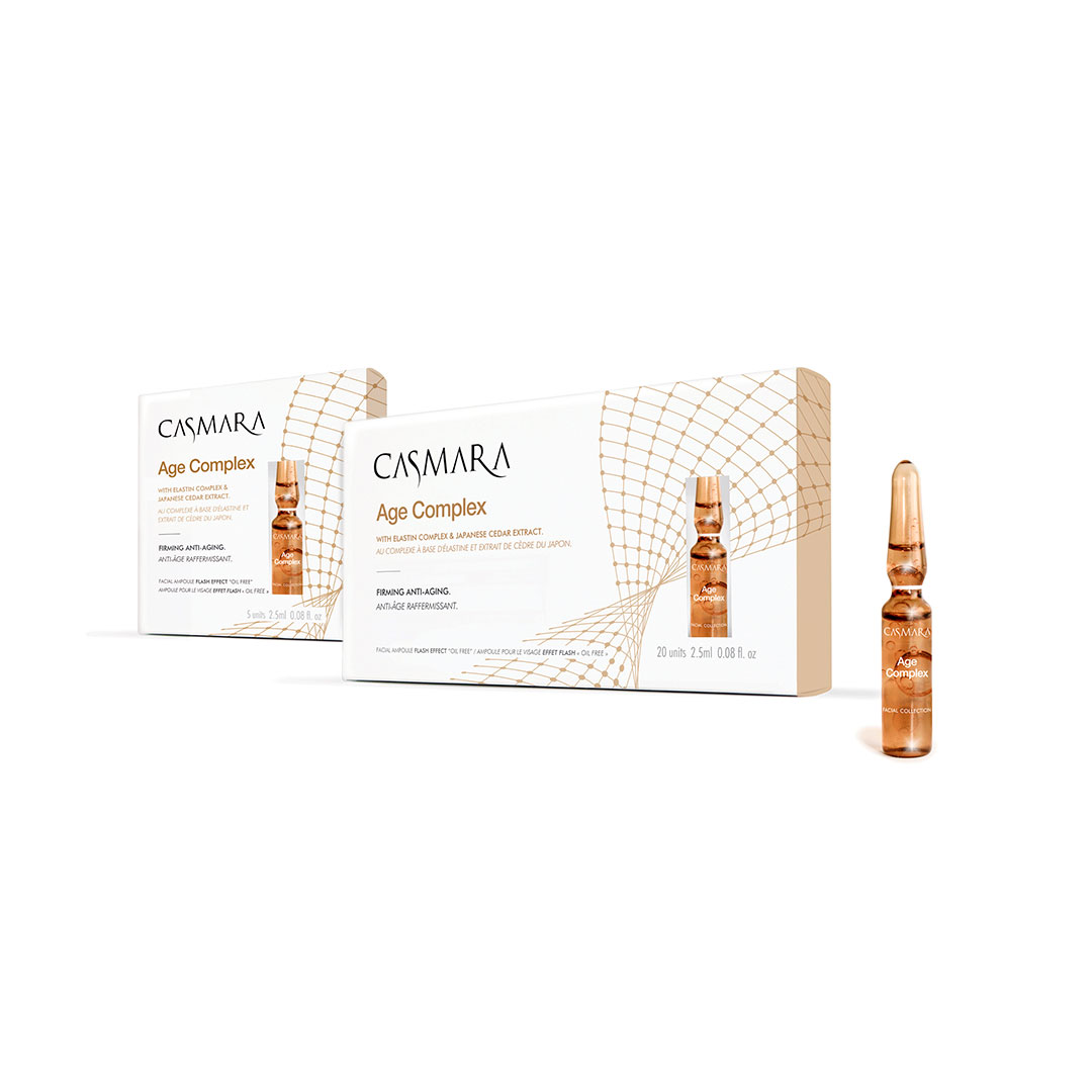 Ampollas Age Complex 5uds Casmara®