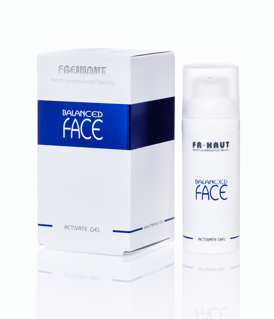 Balanced Face Activate Gel cuidado en casa 50ml Freihaut®