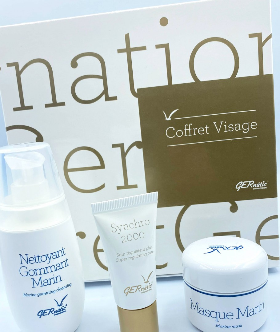 Coffret Special 2020: Nettoyant Gommant Marin + Masque Marin + Synchro 2000 GERnétic®