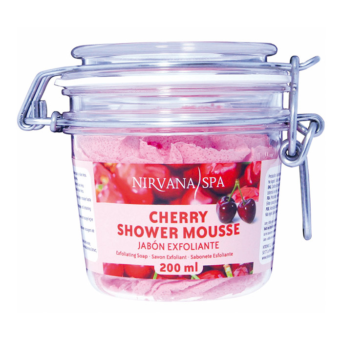 Cherry Shower Mousse 200ml Nirvana Spa®