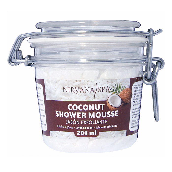Coconut Shower Mousse 200ml Nirvana Spa®