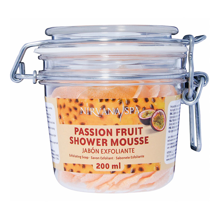 Passion Fruit Shower Mousse 200ml Nirvana Spa®