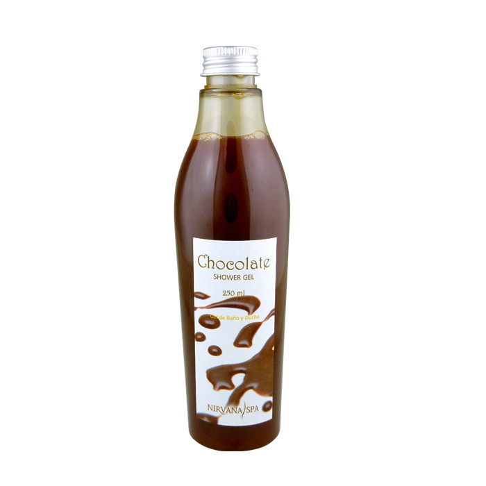 Chocolate Shower Gel 250ml Nirvana Spa®