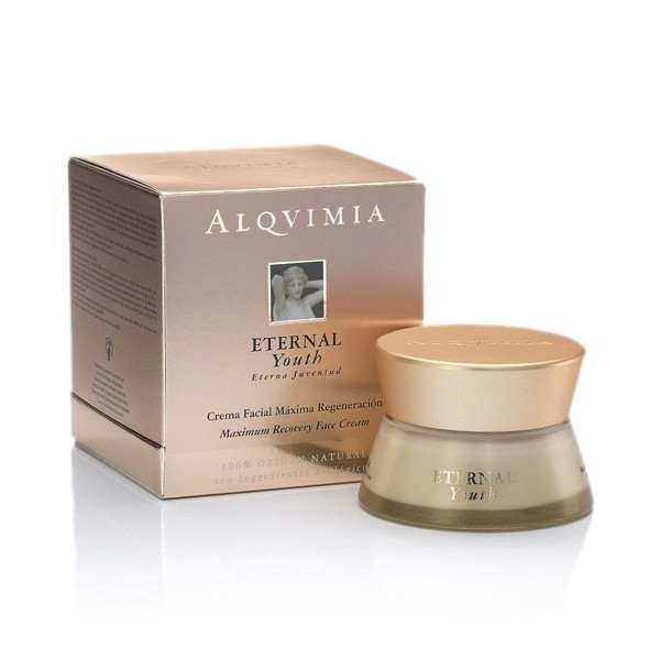 ETERNAL.YOUTH/ Crema Facial Máxima Regeneración 50ml Alqvimia®