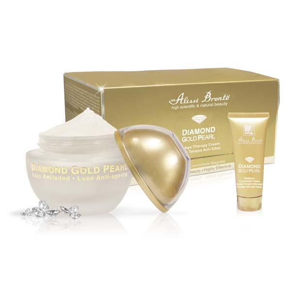 Crema Antiedad Diamond Gold Pearl Alissi Brontë 20ml