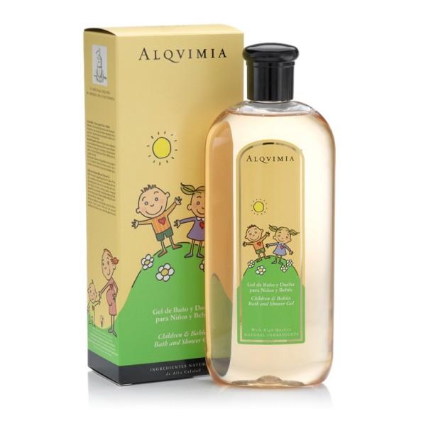 Gel de Baño para Niños y Bebés 400ml Alqvimia®