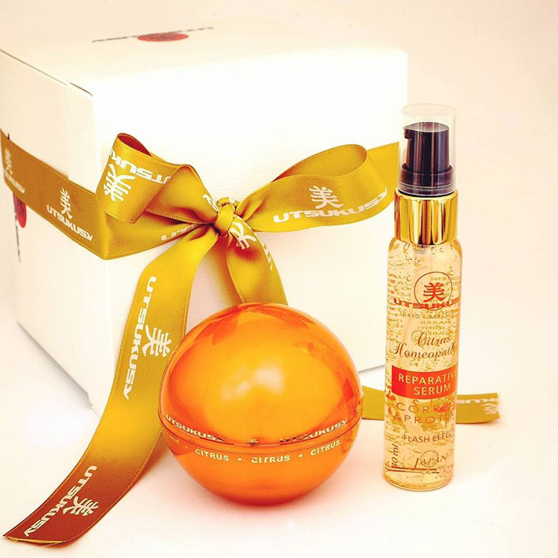 Kit Citrus Vitamina C: Precision Reviver Cream 50ml + Serum Reparative 40ml Utsukusy®