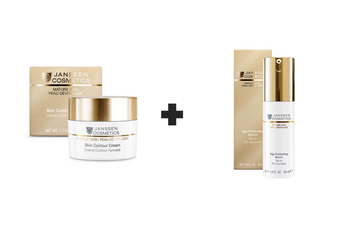 Pack Skin Contour Cream 50ml + Age Perfecting Serum 30ml Janssen Cosmetics®