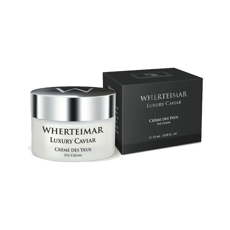 Luxury Caviar Crème Des Yeux 15ml Wherteimar®