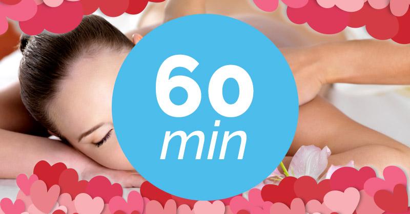 Ampliación del masaje a 60 minutos