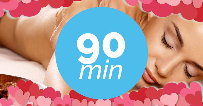 Ampliación del masaje a 90 minutos