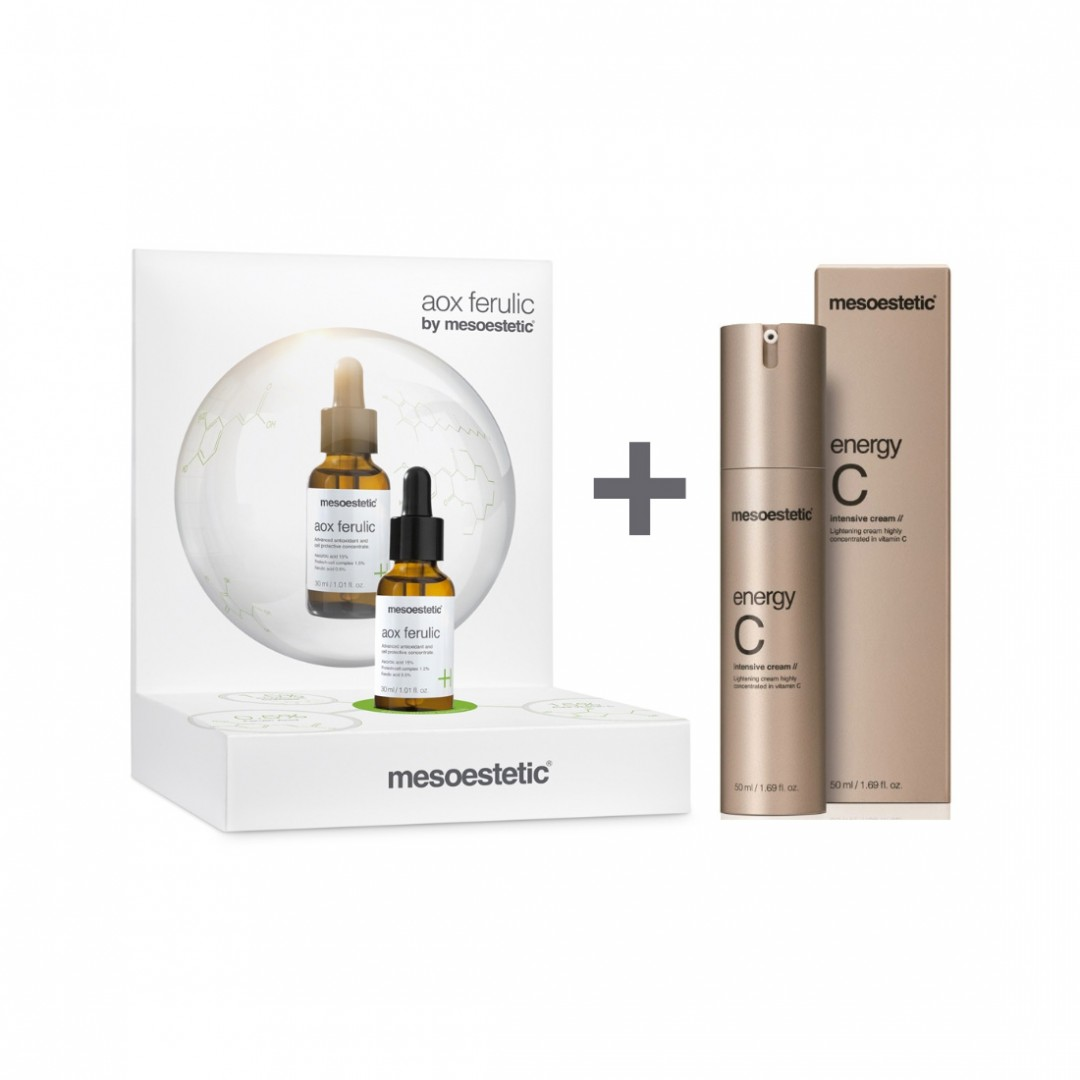 Pack Aox Ferulic + Energy C Intensive Cream Mesoestetic®Pack Aox Ferulic 30ml + Energy C Intensive C