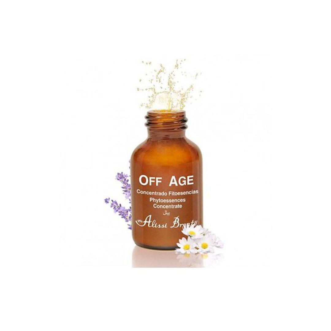 Off Age Concentrado Fitoesencias 4 ampollas x 5ml Alissi Brontë®