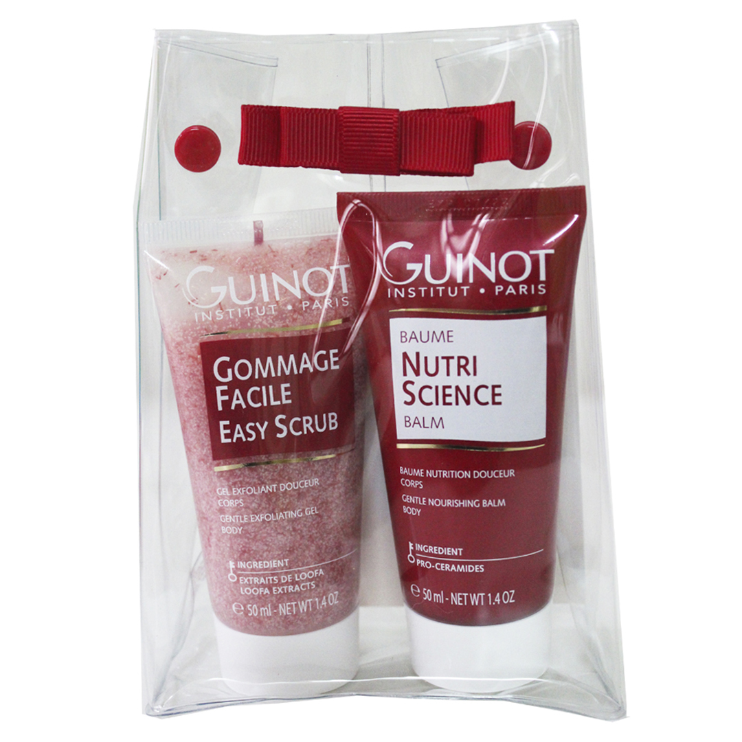 Kit de viaje Gommage Facile + Baume Nutri Science