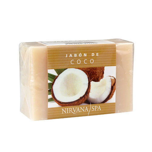 Pastilla de Jabón Coco 100g Nirvana Spa®