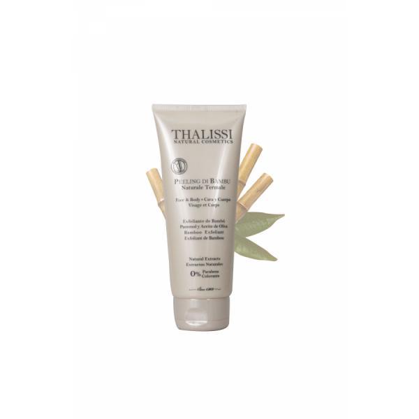 PEELING DI BAMBU NATURALE TERMALE Exfoliante de Bambú 210 ml Thalissi®