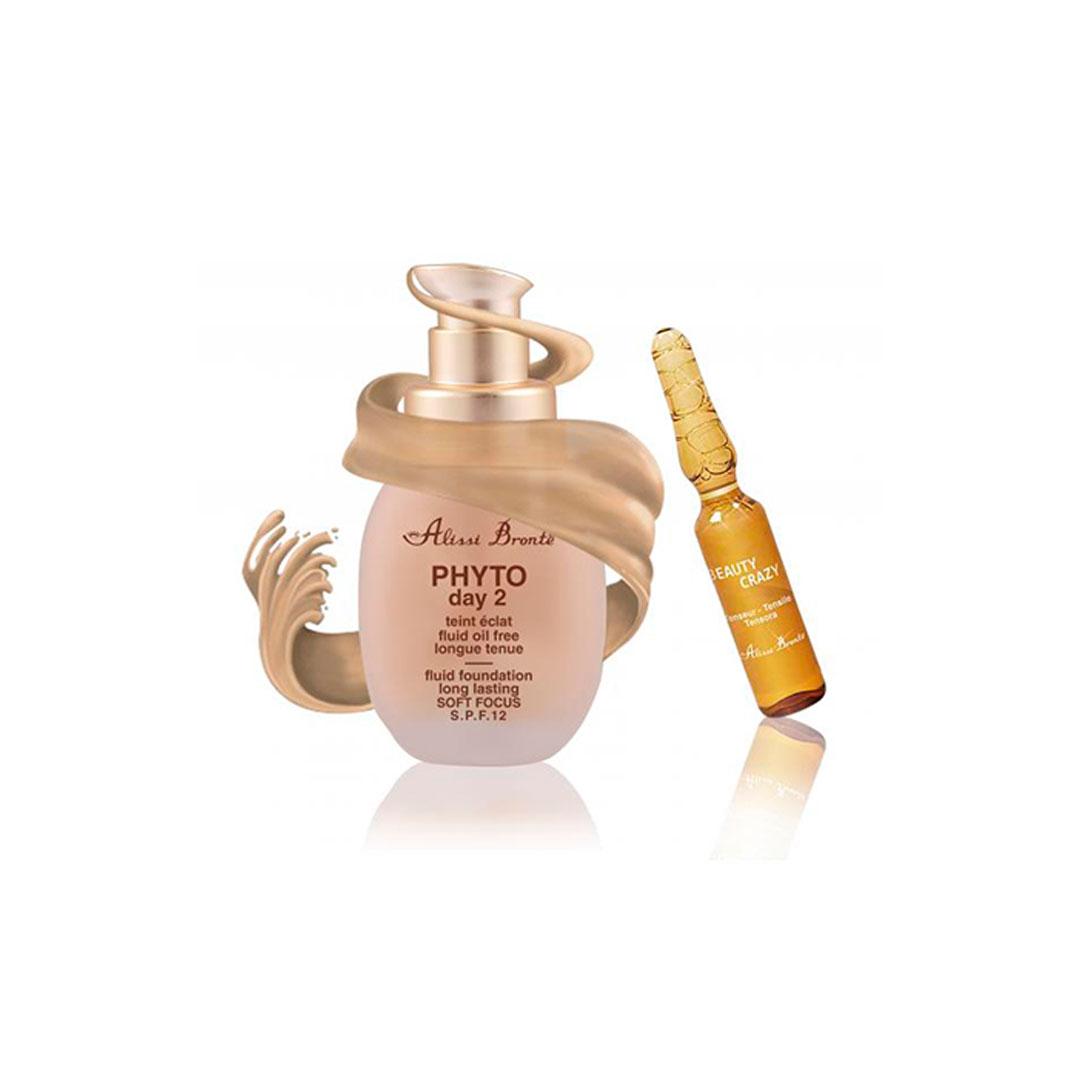 Phyto Day 2 Maquillaje Iluminador 30ml. Tono 2. + Regalo Beauty Alissi Brontë®