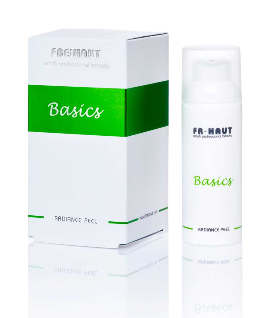 Basics Radiance Peel tratamiento facial exfoliante 50ml Freihaut®