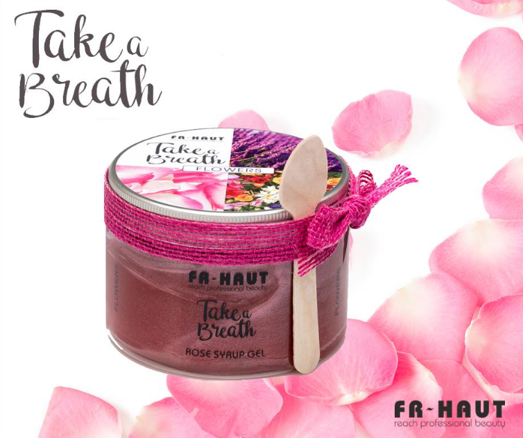 Take a Breath Rose Syrup Gel 450ml Freihaut®