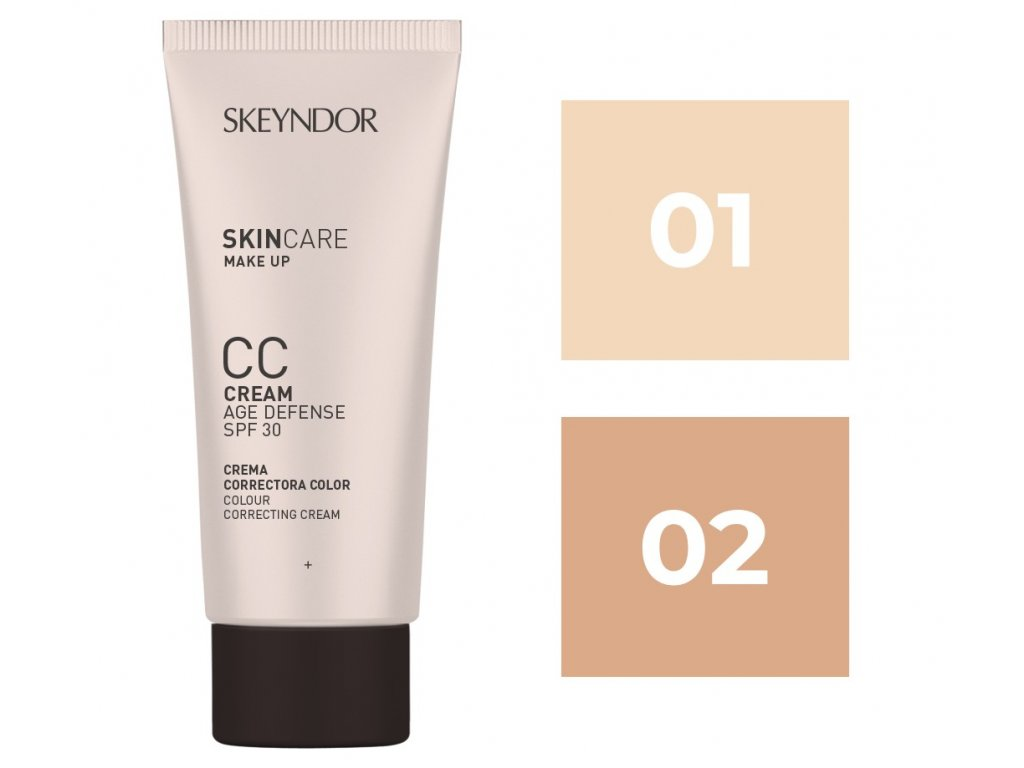 Skin Care CC Cream SPF30 Tono 02 40ml Skeyndor®