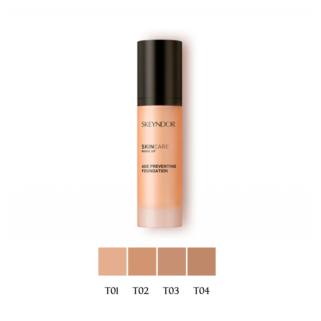Skin Care Maquillaje Fluido - Age Preventing Foundation Tono 02 30ml Skeyndor®