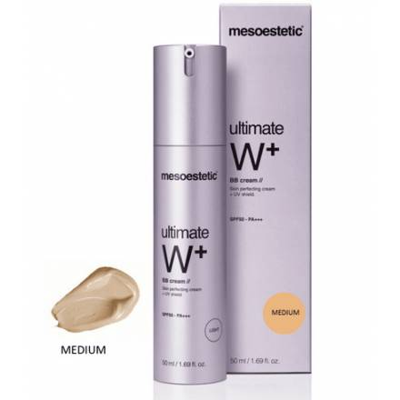 ULTIMATE W+ BB CREAM MEDIUM Mesoestetic 50ml